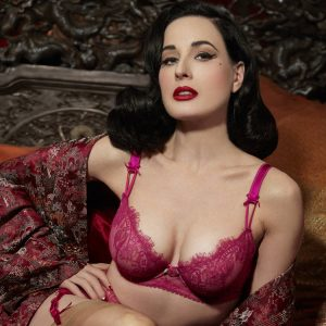 nouvelle collection lingerie coquette dita von teese exclusivité glamuse