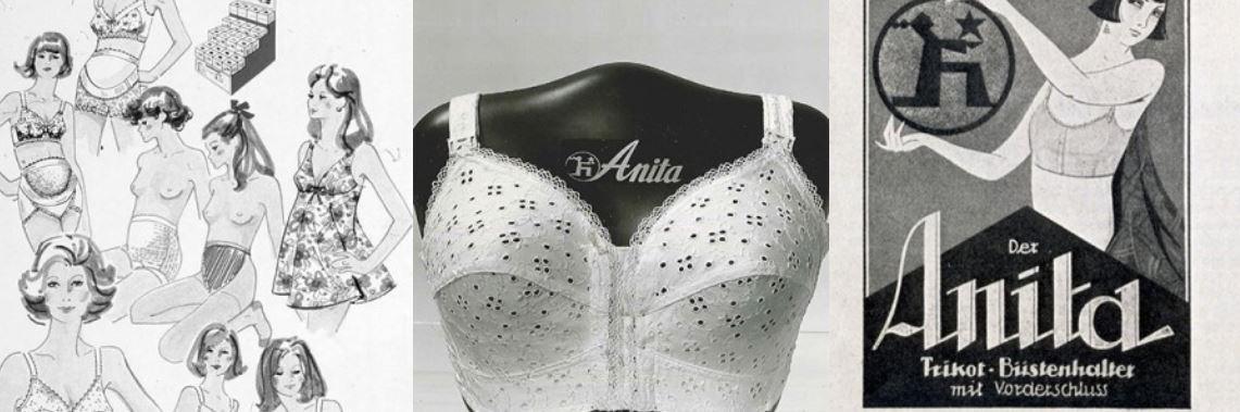 Anita lingerie 130 ans d'histoire image et publicite vintage