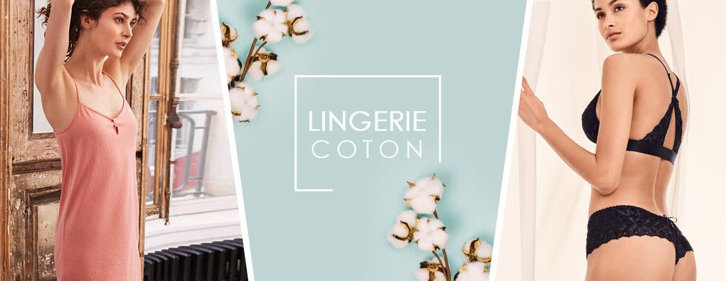 Pourquoi choisir le coton en lingerie. Zoom sur ses nombreuses propriétés