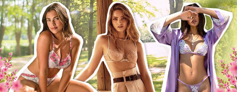 les tendances lingerie printemps/été 2021 avec Glamuse