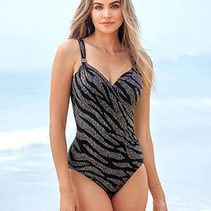 Kirkland Miraclesuit Bikini Culottes Maillot De Bain Baignade Pantalon noir amincissant10