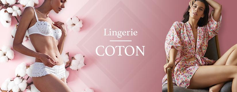 Lingerie et homewear coton : au cœur du confort et de la douceur