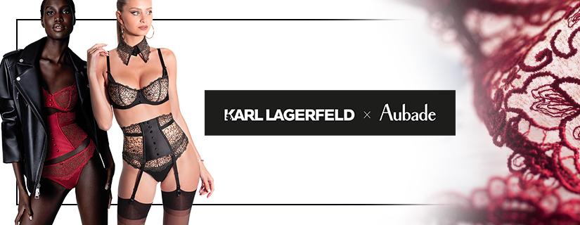 Karl Lagerfeld x Aubade collector