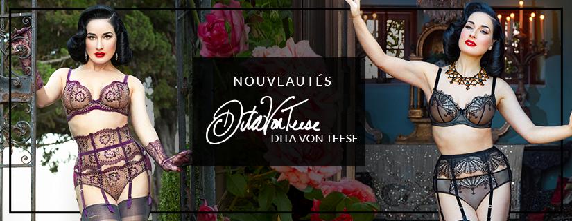Les nouvelles créations lingerie 2021 de Dita Von Teese