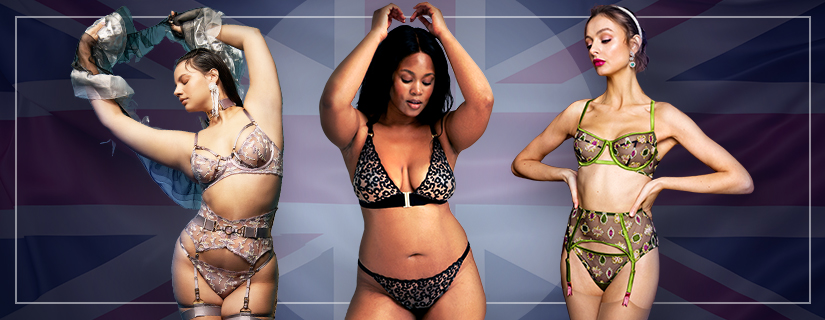 """Audace à l'anglaise : sélection lingerie """"so british"""""""