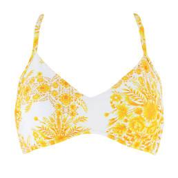 SEAFOLLY haut de maillot de bain brassière grandes tailles Sunflower
