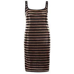 MIRADONNA robe de plage Cloe Shiny Safari