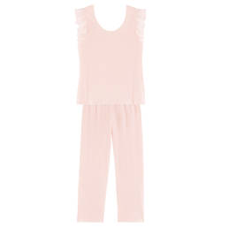 LAURENCE TAVERNIER pyjama 7/8 manches courtes en coton Mirage