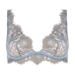 VALERY soutien-gorge foulard Prestige en soie et dentelle Françoise