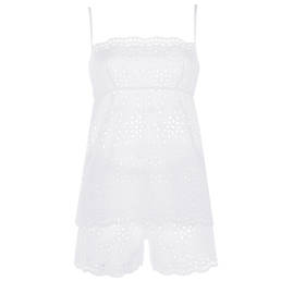 VALERY pyjama short en coton Nathalie