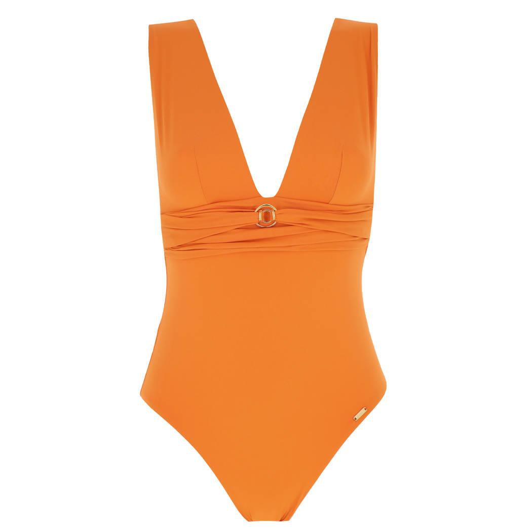 LIVIA maillot de bain 1 pièce décolleté Carla sans armatures Cabourg